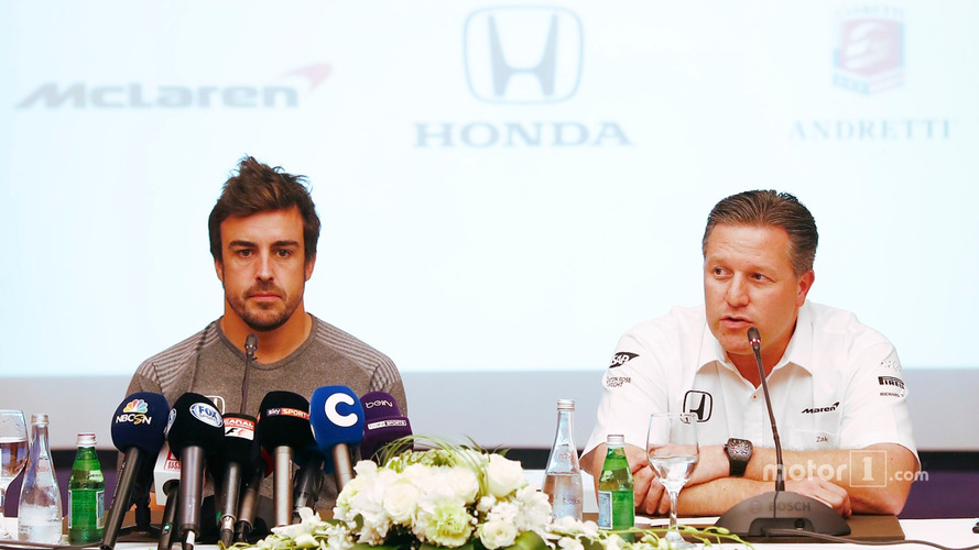 McLaren Says Alonso Indy 500 Idea Was Originally A Joke