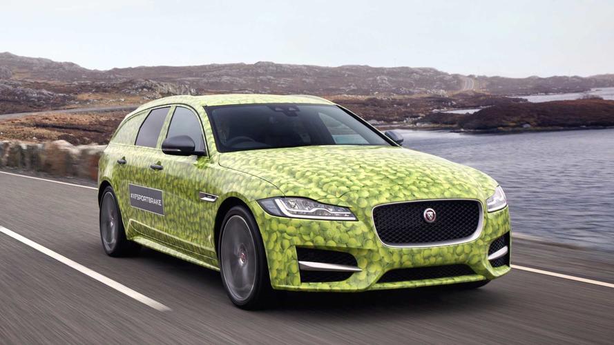 Jaguar'dan XF Sportbrake'e cesur ve güzel tasarım