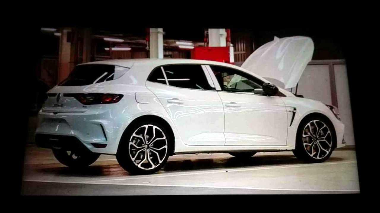 Renault Megane RS leaked image