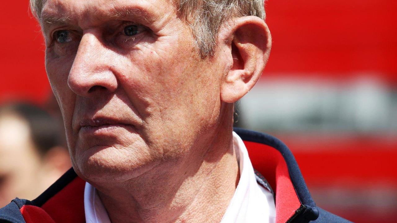 Dr Helmut Marko 11.05.2013 Spanish Grand Prix