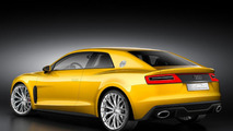 2013 Audi Sport Quattro Concept leaked photo