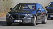 Mercedes Classe S facelift photos espion