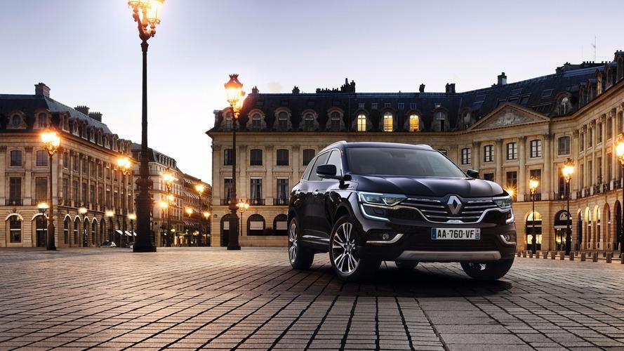 Renault Koleos SUV Paris'te Avrupa tanıtımını yaptı