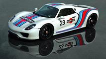 Porsche details the Weissach package on the 918 Spyder [video]