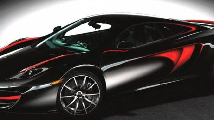 mclaren mp4 12c fire black singapore edition to be unveiled at singapore f1 grand prix. Black Bedroom Furniture Sets. Home Design Ideas