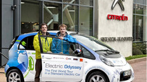 Citroen C-Zero completes around the world trip
