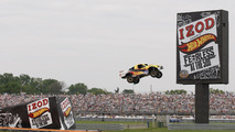 Hot Wheels jump at Indy 500 by Tanner Faust [video]