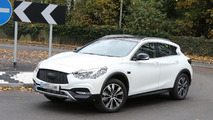 Infiniti QX30 drops most of its camo in latest spy shots