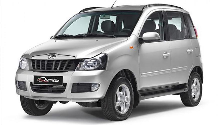 Mahindra Quanto, il mini fuoristrada arriva dall'India