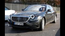 Mercedes Classe S restyling, le foto spia