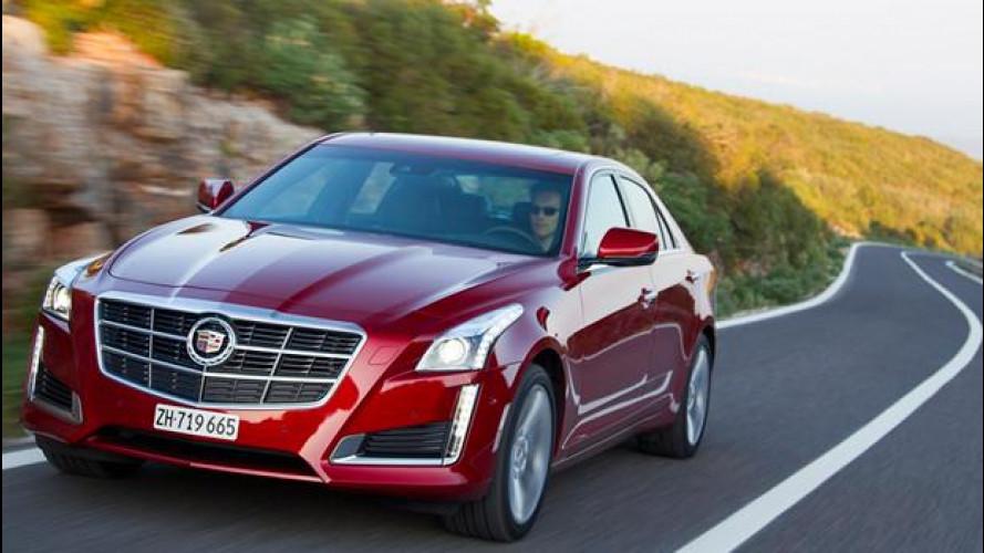 Cadillac CTS berlina, il premium American Style