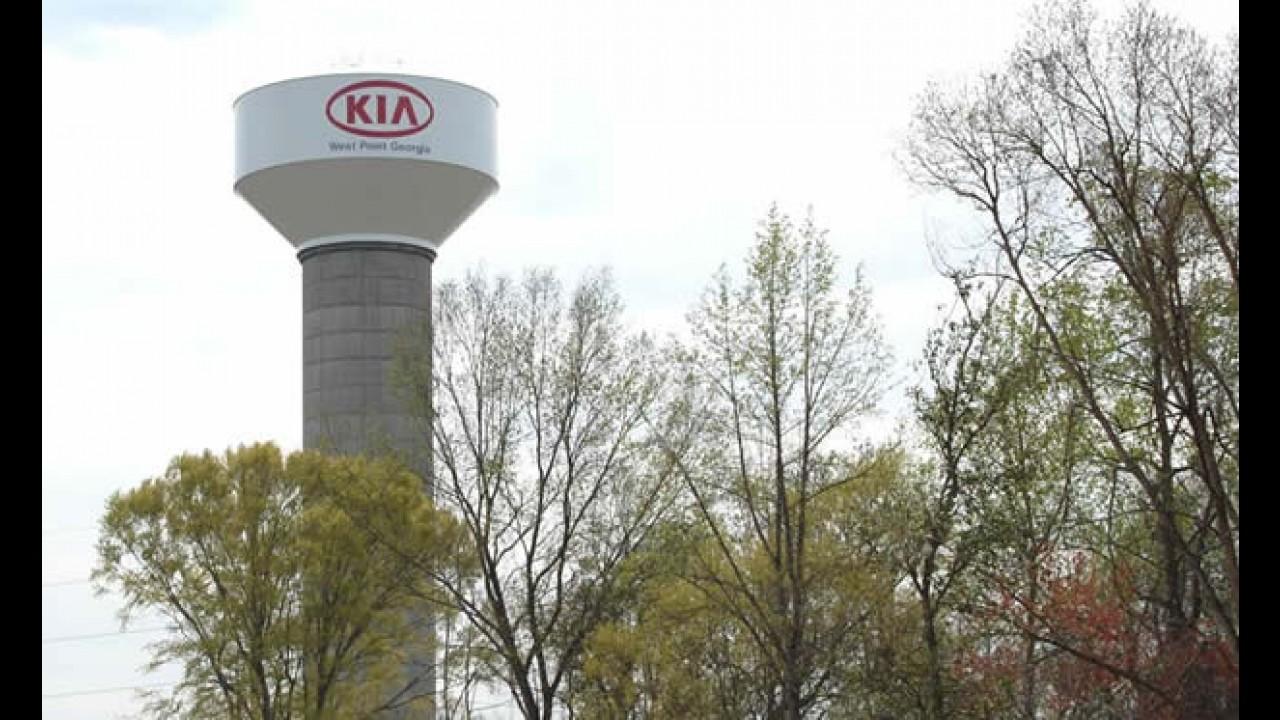 Kia inaugura fábrica de 1 bilhão de dólares na Georgia - Estados Unidos