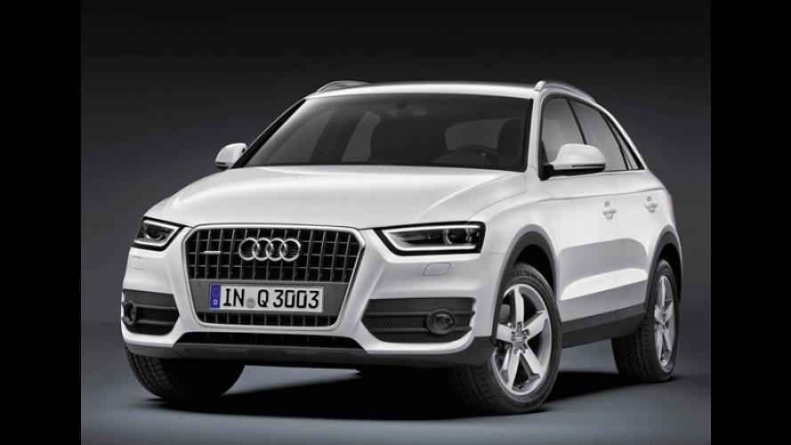 Audi Q3 ganha motor 1.4 TFSI na Europa - modelo nacional chega flex em 2016