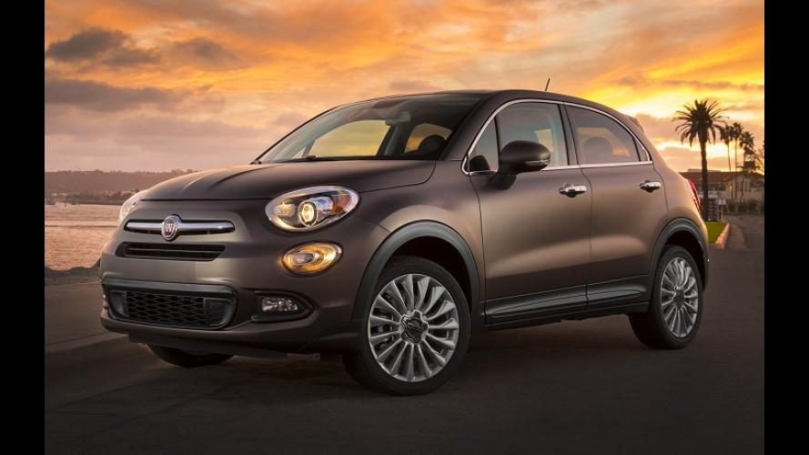 FCA espera que 500X seja o modelo Fiat mais vendido nos EUA