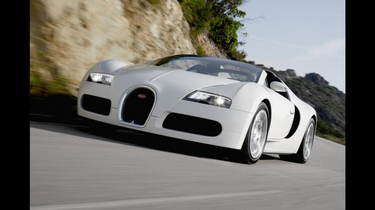 Bugatti anuncia venda do último exemplar do esportivo Veyron