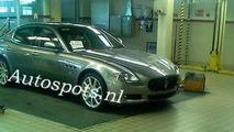 Maserati Quattroporte Facelift spy photo