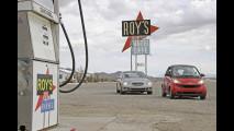 La Route 66 in smart e Mercedes