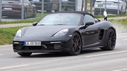 Porsche 911 GT3-Powered 718 Boxster Spyder Is Coming