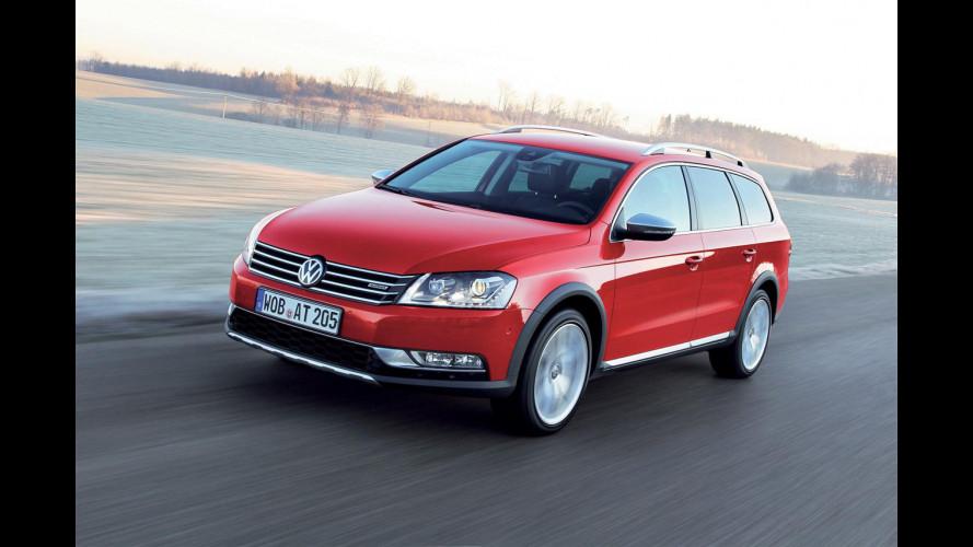 Volkswagen Passat Alltrack: prezzo di 38.100 euro