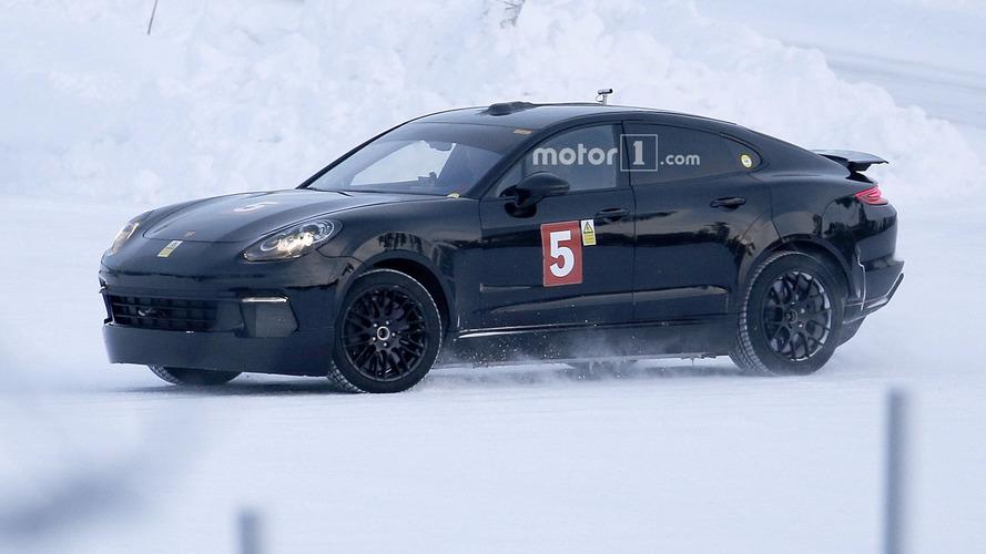 Photos espion - La berline 100% électrique de Porsche débusquée ?
