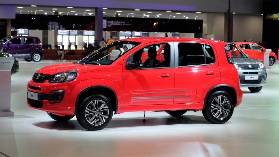 Fiat reajusta preços de vários modelos em janeiro; veja tabela
