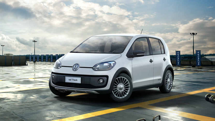 Volkswagen CrossFox Urban White, up! Track, Gol Track