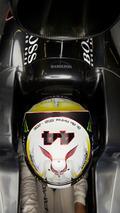 Lewis Hamilton, Mercedes AMG F1, sur la grille de départ