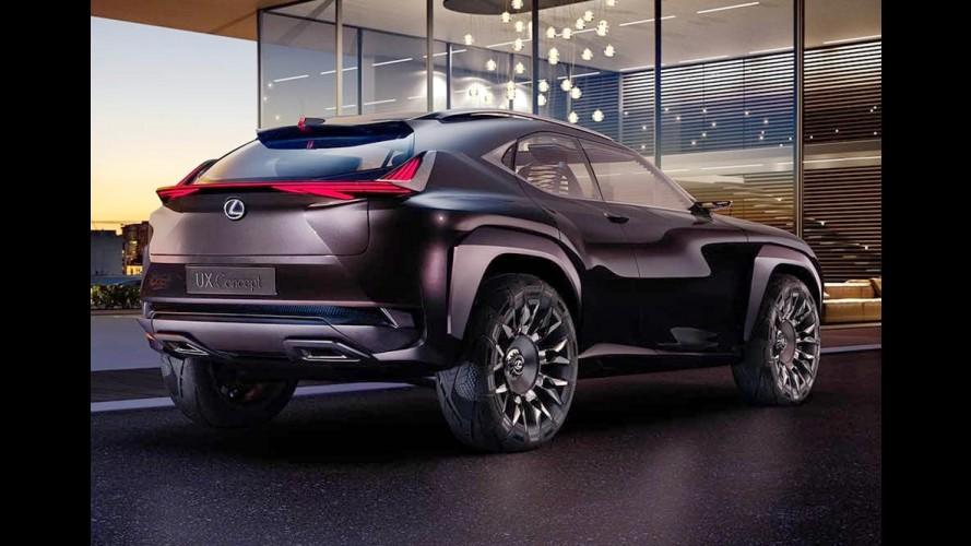 Lexus UX: prévia de futuro rival para o Audi Q2 aparece em 1ª foto
