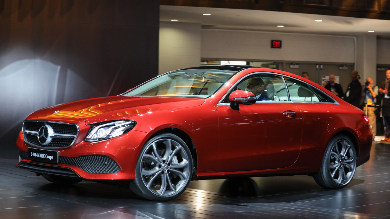 2018 Mercedes-Benz E-Sınıfı Coupe: Detroit 2017