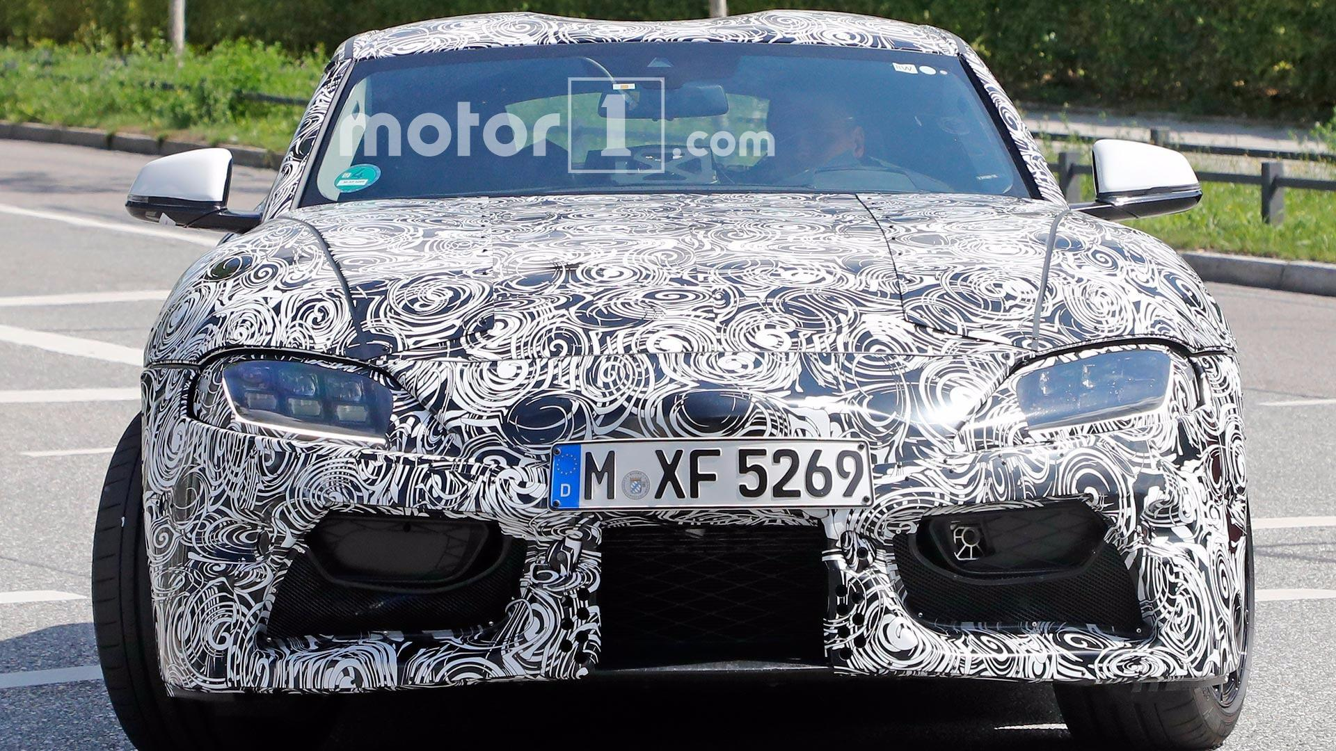 2018 Toyota Supra Spied Testing With LED Headlights
