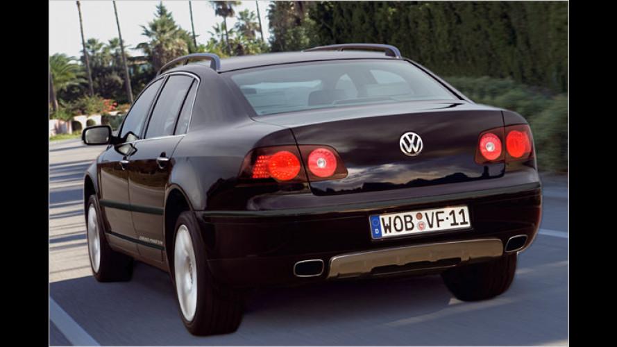 VW CrossPhaeton: Offroad-Limousine war ein Aprilscherz