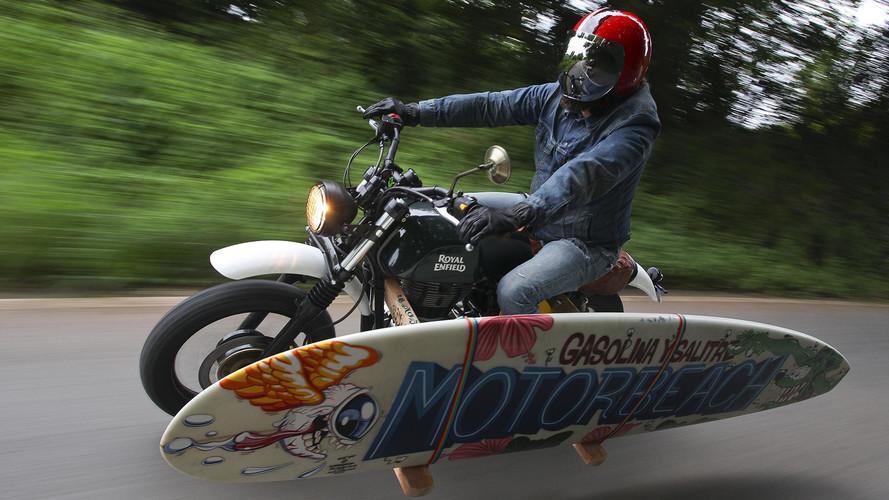 Una nueva Royal Enfield surfera nace en el festival Motorbeach