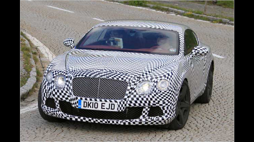 Bentley Continental GT: Feines Facelift