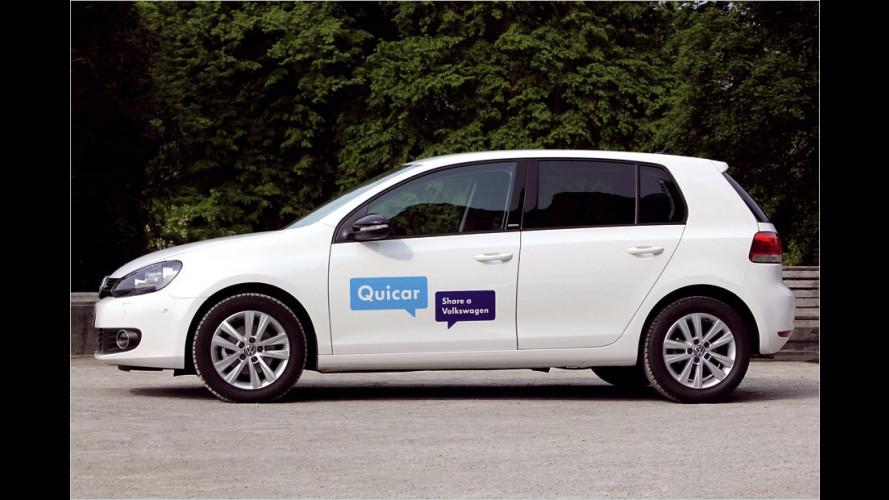 VW Quicar startet in Hannover: Einfach einen Golf mieten