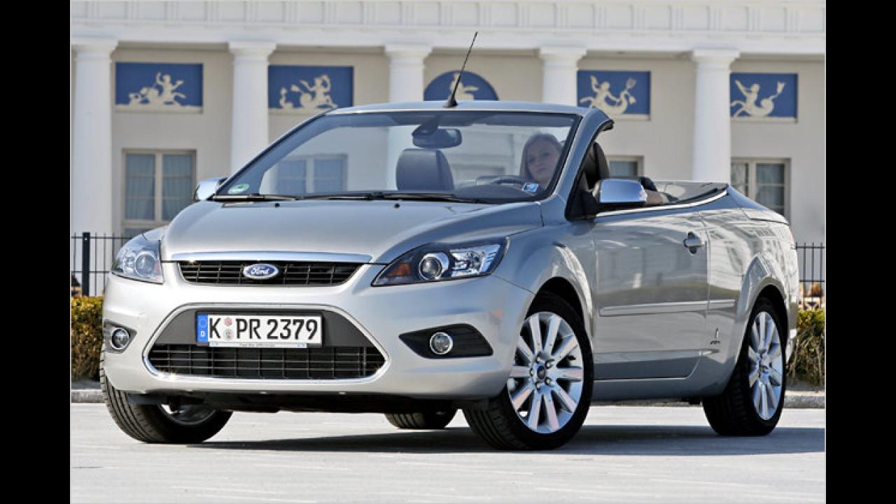 Sportwagen/Cabrios, 3. Platz: Ford Focus Coupé-Cabrio