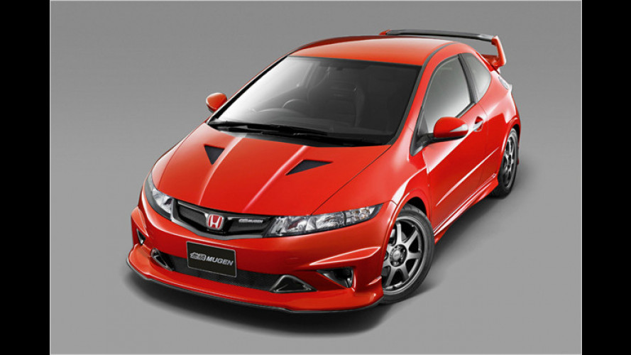 Noch mehr Power: Studie Honda Civic Type R Mugen