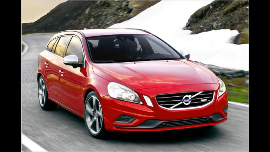 Volvo S60 und V60: Dynamischer dank R-Design