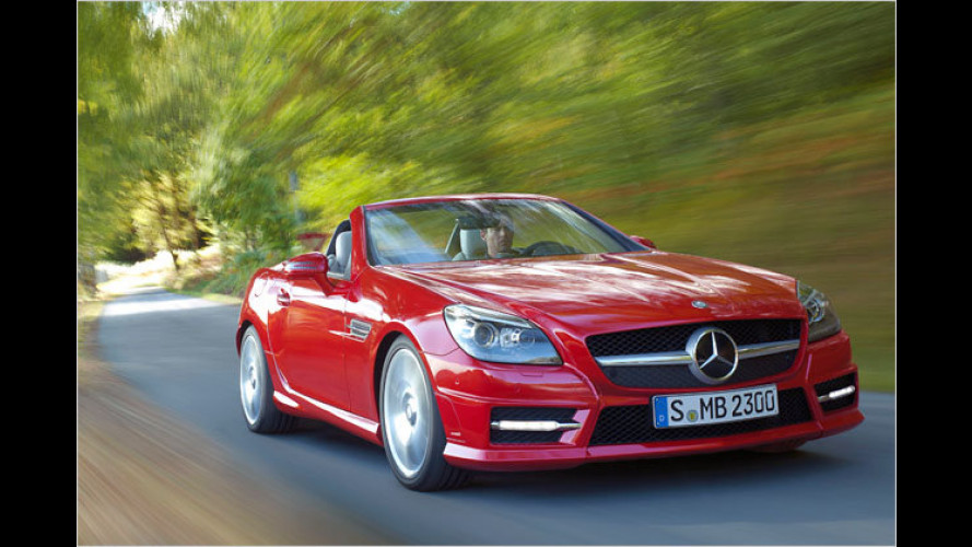 Neuer Mercedes SLK bekommt Umweltzertifikat
