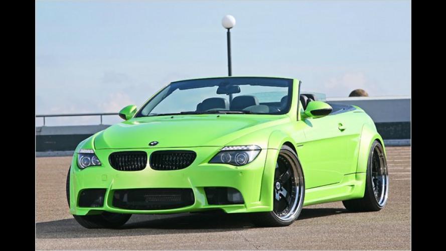 Der macht sich breit: 6er BMW von CLP