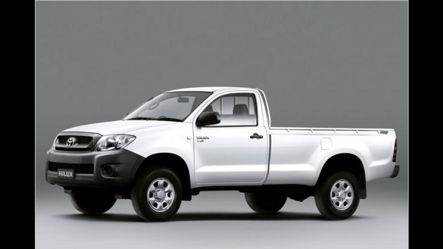 4x4 auch für Toyota Hilux Single Cab