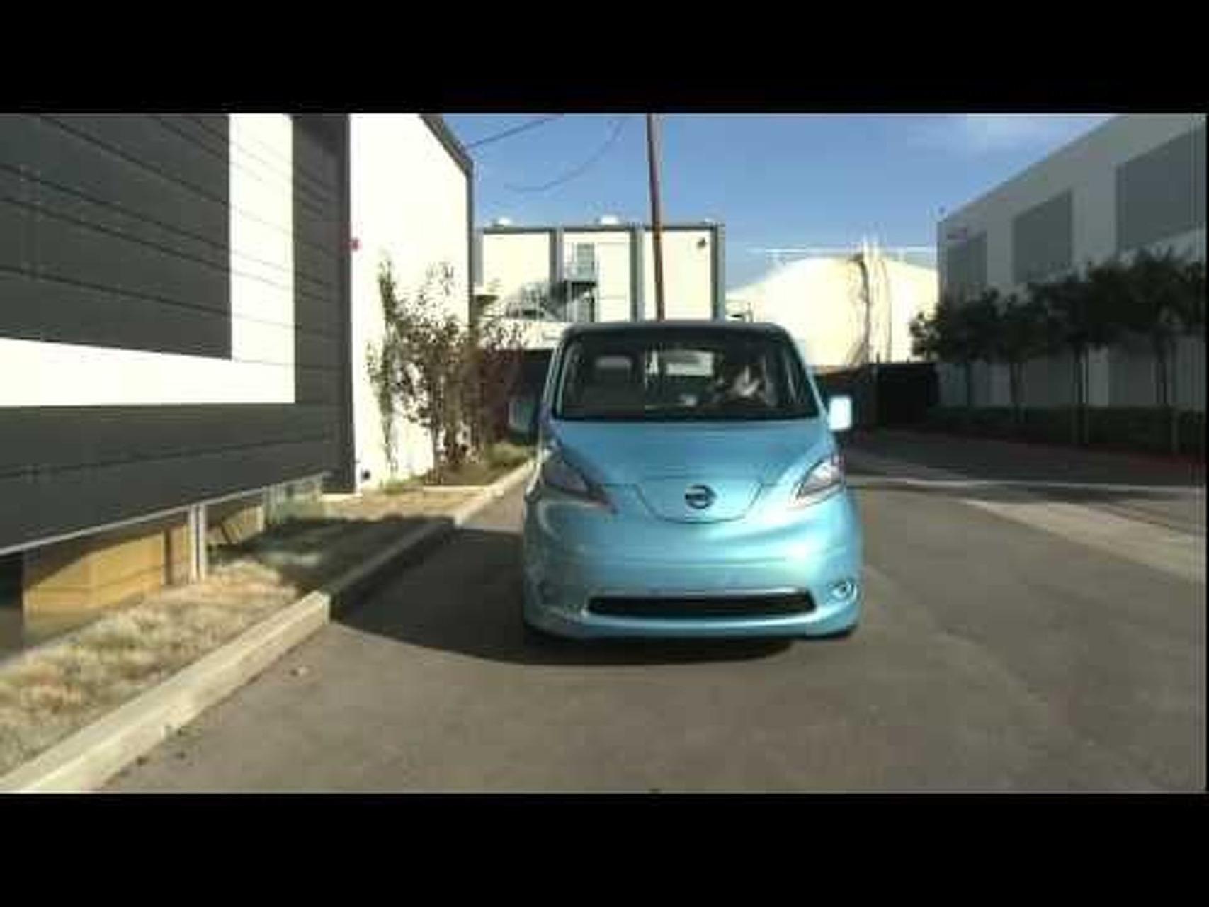 2012 Nissan e-NV200 Concept