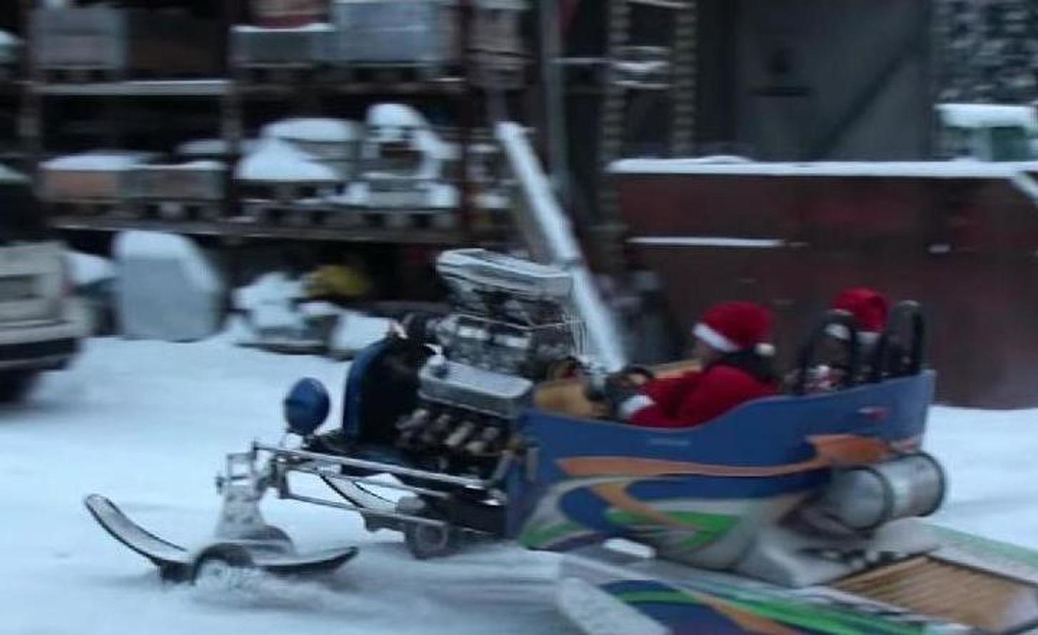 Santa's New Sleigh Has Plenty Ho Ho Horsepower
