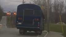 12-year old goes all GTA on his school bus