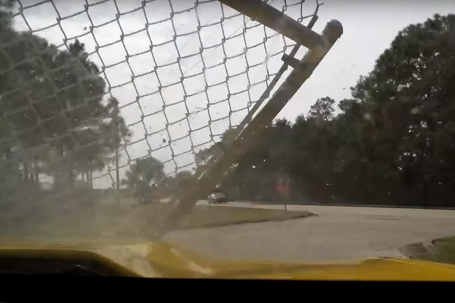 Camaro Driver Loses Brakes at Sebring, Recovers Beautifully