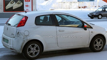Fiat Grand Punto facelift spy photo
