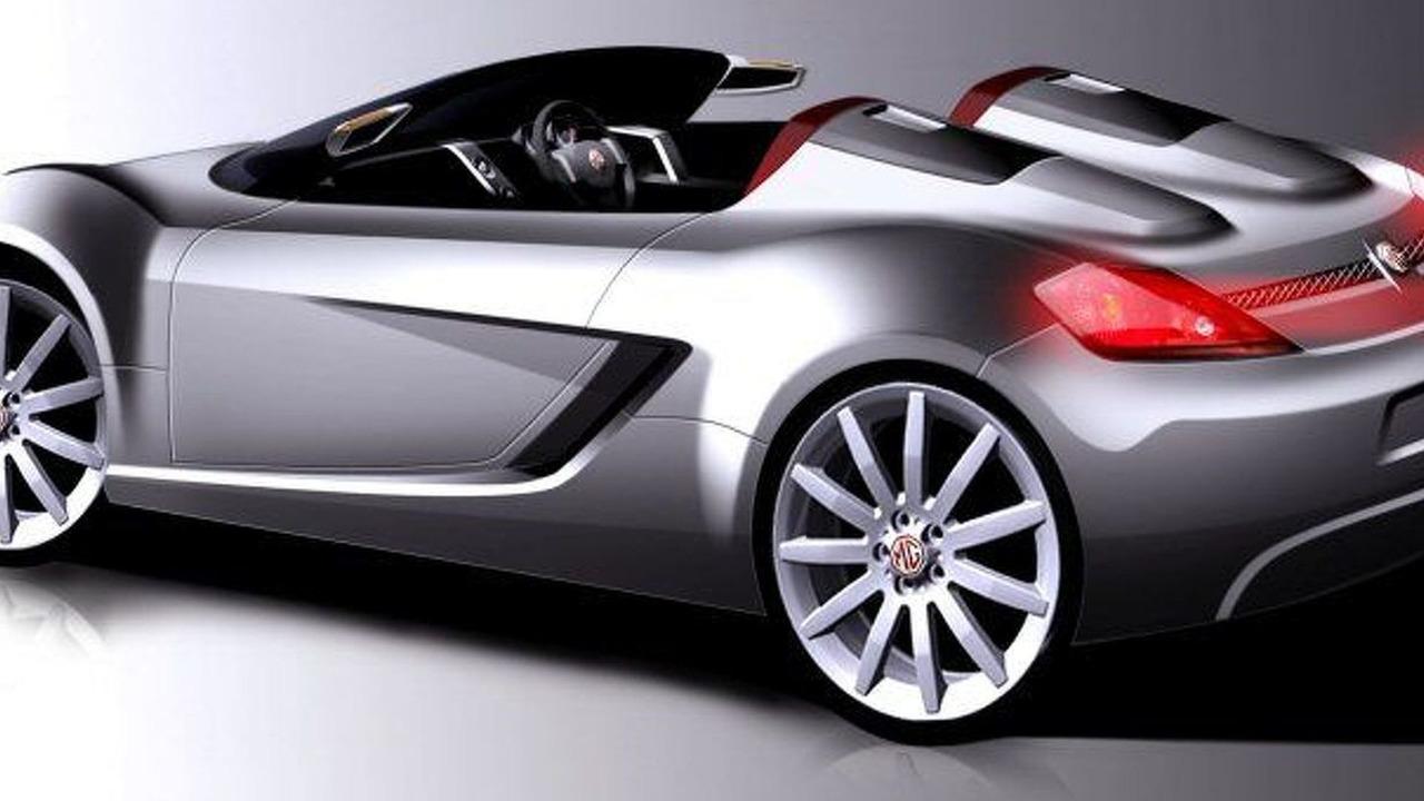 MG Project X120 sports car artist rendering - 800
