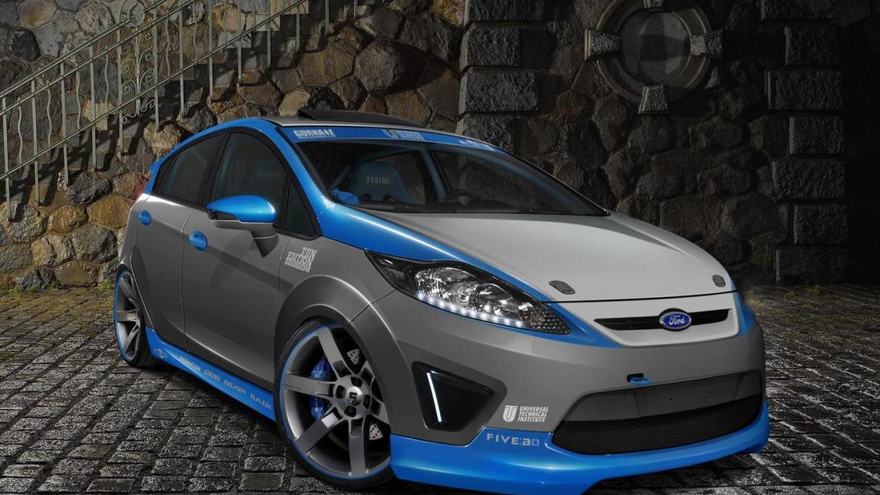 SEMA Ford Fiestas