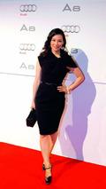 Lucy Liu, actress, at 2011 Audi A8 unveiling, 01.12.2009