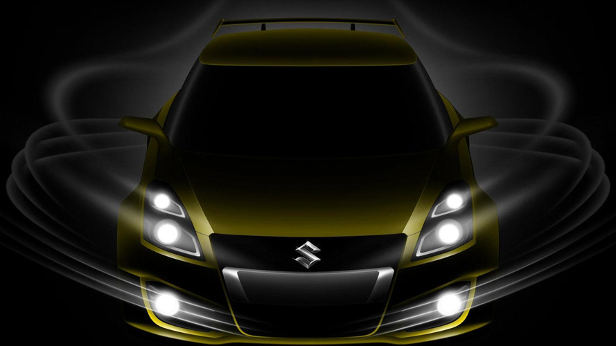 Suzuki Swift S-Concept teased for Geneva reveal