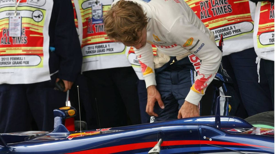 Red Bull confirms broken 'stabilisator' for Vettel